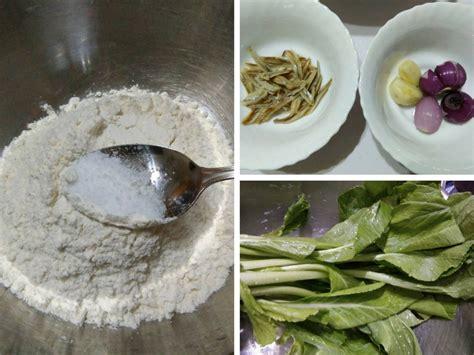 cara membuat capcay gandum sup tepung sedap lagi berkhasiat lembut mengenyangkan