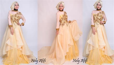 Ready Gaun Pengantin Wanita 3d wedding dress muslimah nely afifi archives wedding dress