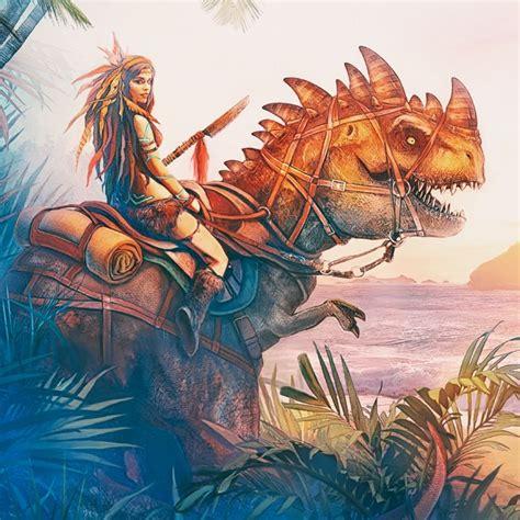 ark survival island 700 700 by anastasyaro on deviantart