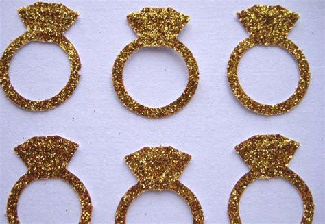 Handmade Props - glittery gold wedding finds for glam handmade weddings