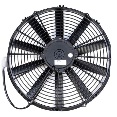 spal 14 electric fan spal 14 quot medium profile fan push