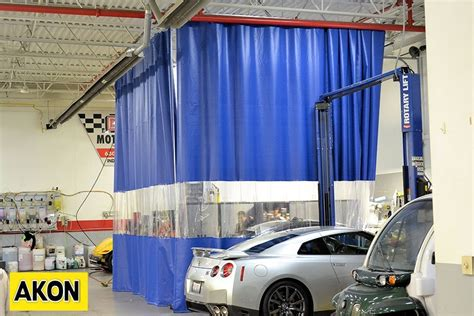 paint booth curtain walls paint and spray booth curtains akon curtain and dividers