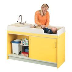 portable sinks for daycares infant changing table for nursery or child care center