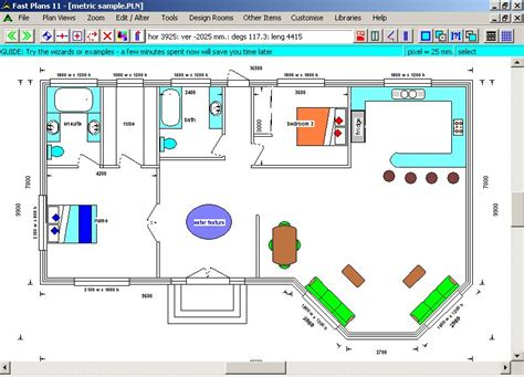 fast plans cad floor plan design software easy to