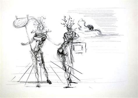 Dali Ink Drawings