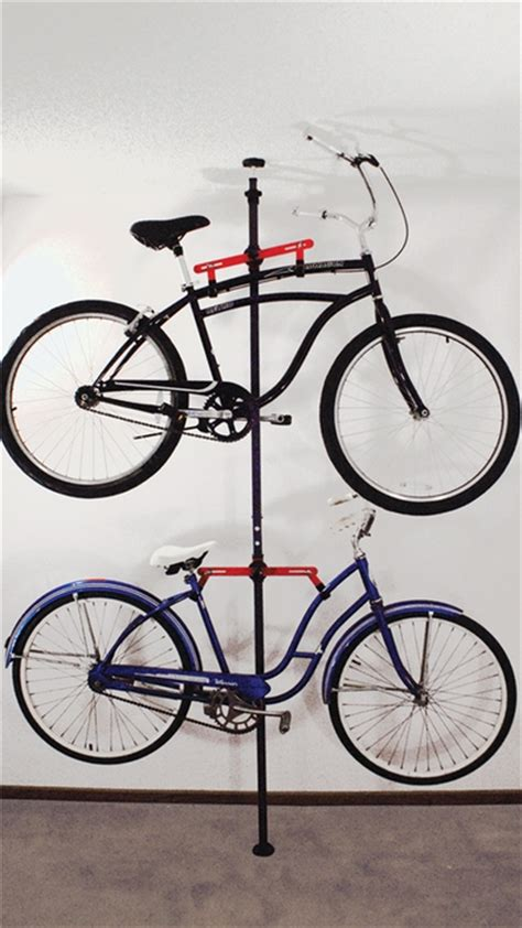 Bike Rack For Home by Bike Storage Rack For Apartment Pressure Mount
