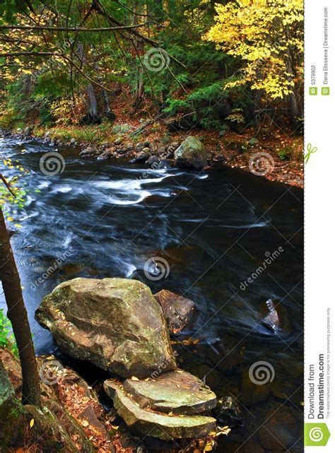 Happy Garden Fall River by Fall River Landscape Stock Photography Image 5379902