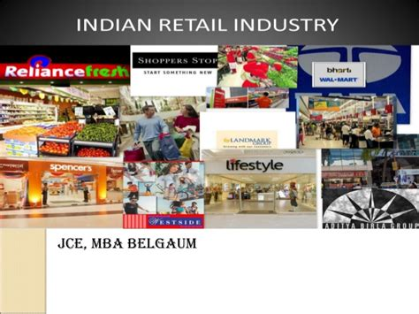 In Retail Industry For Mba by Retail Industry Analysis