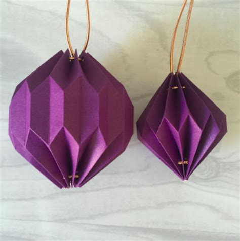 Origami Japanese Lantern - means uk ribbon designer giftwrapping expert