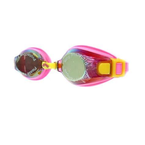 Kacamata Renang Arena Mirror jual arena swim goggles junior mirror agg 361mj pnk