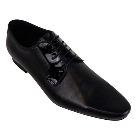 mens h by hudson leather smart larkin derby shoe formal