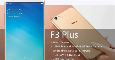 Oppo F1s Plus New High Spech Ram 4gb Rom 64 Gb oppo f3 plus vs oppo f1s specs and price comparison in philippines howtoquick net