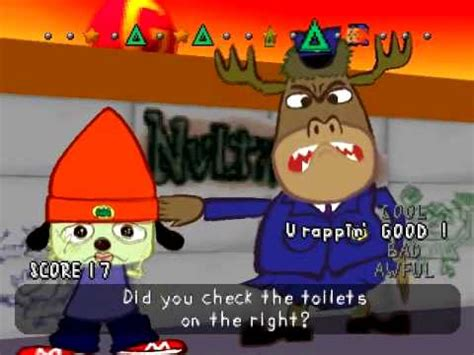parappa the rapper bathroom rap let s play parappa the rapper part 5 youtube