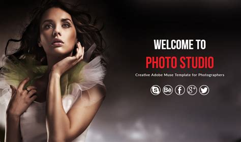 photo studio photography muse template