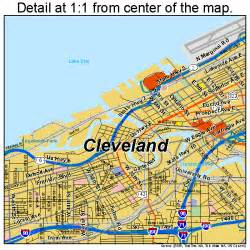 map of cleveland ohio afputra