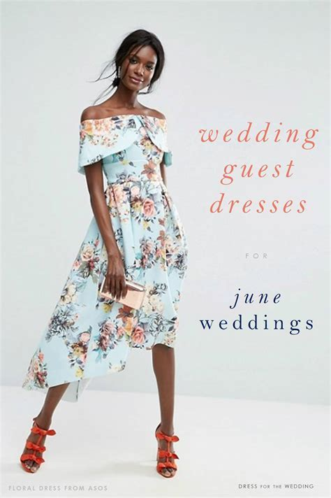 20 On Trend Dresses for June Wedding Guests   Dress for