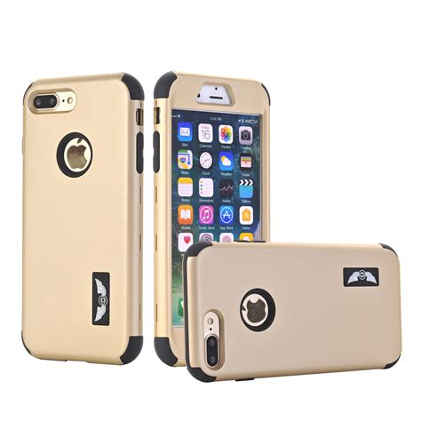 protective hybrid rubber shockproof cover for apple iphone 8 6s 7 plus ebay