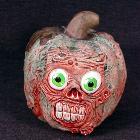 zombie home decor reserved lindsey star roman zombie pumpkin home decor by