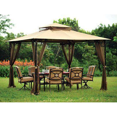 Big Lots Patio Gazebos Replacement Canopy And Netting Set For The Bamboo Look Gazebo Sold At Big Lots By Garden Winds