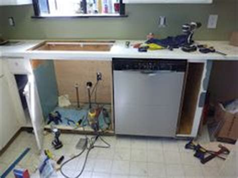 install a dishwasher in an existing kitchen cabinet how to build a free standing dishwasher cabinet
