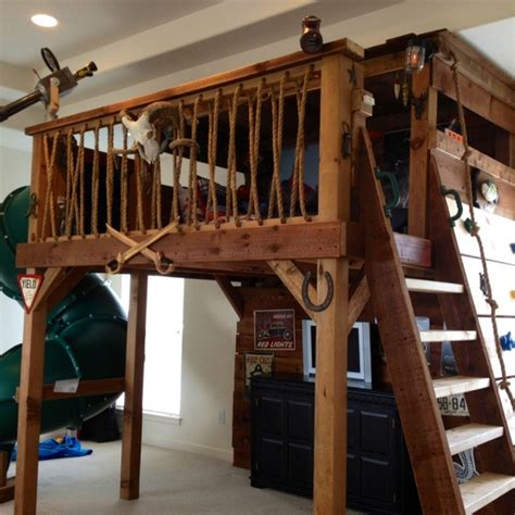 tree house loft bed a treehouse bed for our son max mickey mouse