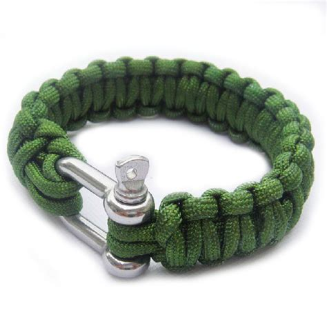 Baru Cord Lock Paracord Stopper Tas Outdoor Survival Prusik Edc Bag Outdoor Paracord Accessories Bosin Hardware Co Ltd