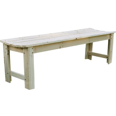 wood benches for outside backless wood garden bench in outdoor benches
