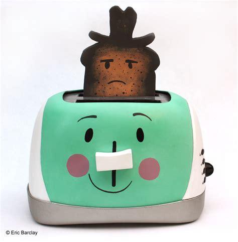 Talking Toaster eric barclay burnt toast