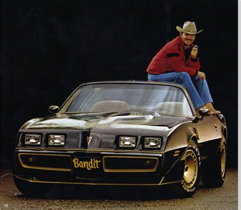 se filmer smokey and the bandit burt reynolds to raffle trans am from smokey and the