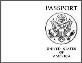 novelty passport template 25 best ideas about passport template on