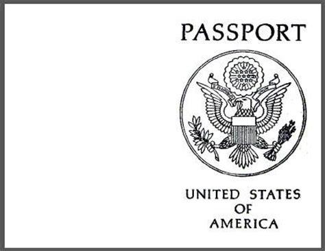 printable blank passport        host