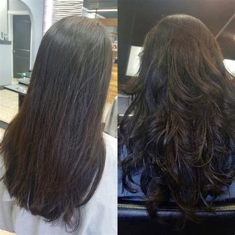transfer perm before after setting perm with botox treatment yelp