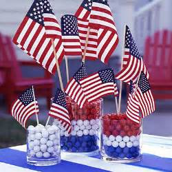 Patriotic Table Decorations Patriotic Centerpieces