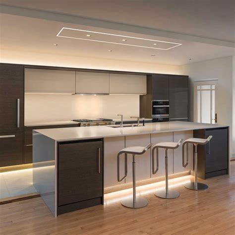 led kitchen lighting how to light a kitchen lightology