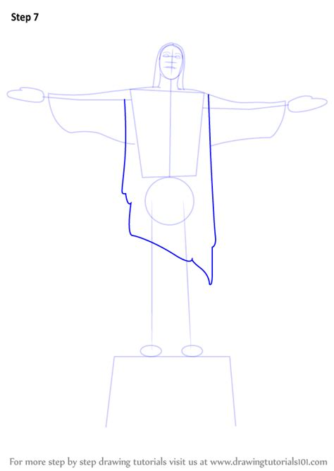 Sketches Of 7 Wonders In World by Learn How To Draw The Redeemer Wonders Of The