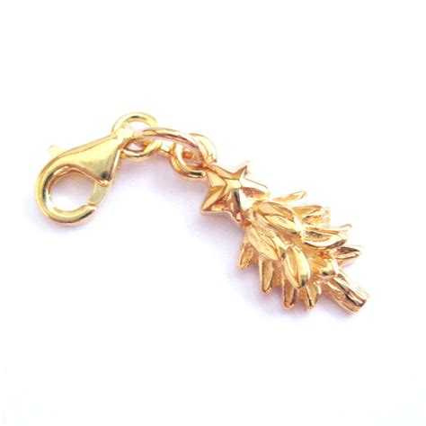 22k gold plated sterling silver tree with