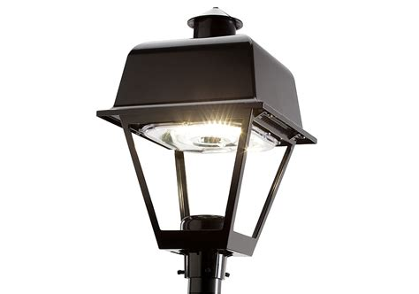 Led Light Fixtures Outdoor Ge Evolve Led Post Top Lighting Fixtures Salem Outdoor Lighting Current Powered By Ge