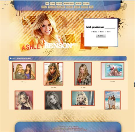 Coppermine Gallery Themes Free | free fansite themes