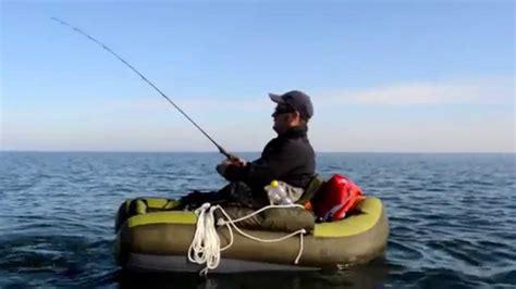 belly boat belly boot angeln auf der ostsee und den bodden gew 228 ssern