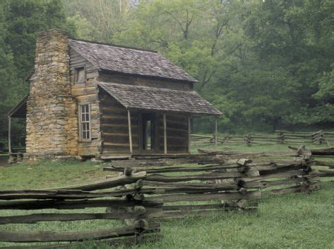 Great Smoky Mountains Log Cabin Oliver Cabin In Cades Cove Great Smoky Mountains
