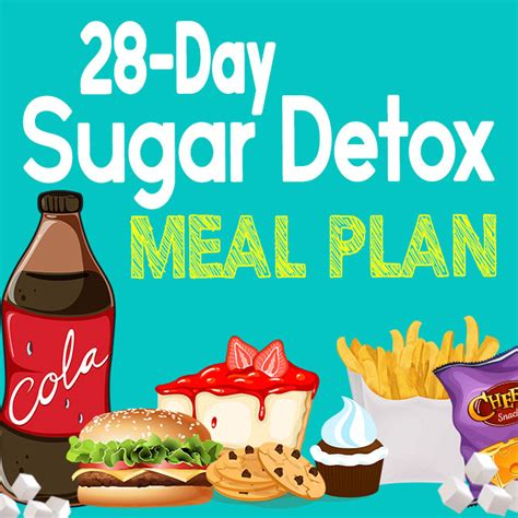 28 Day Sugar Detox Challenge by Food