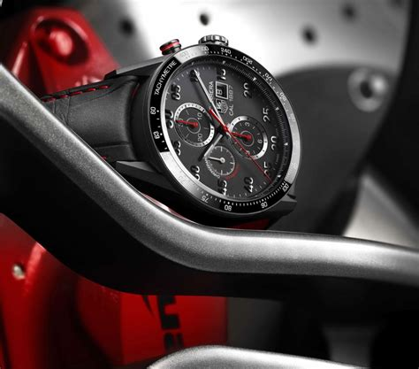 Tag Heuer Cal 1887 Car2a10 Black On Leather Swiss Eta 1 1 on review calibre 1887 43mm ceramic the home of tag heuer collectors