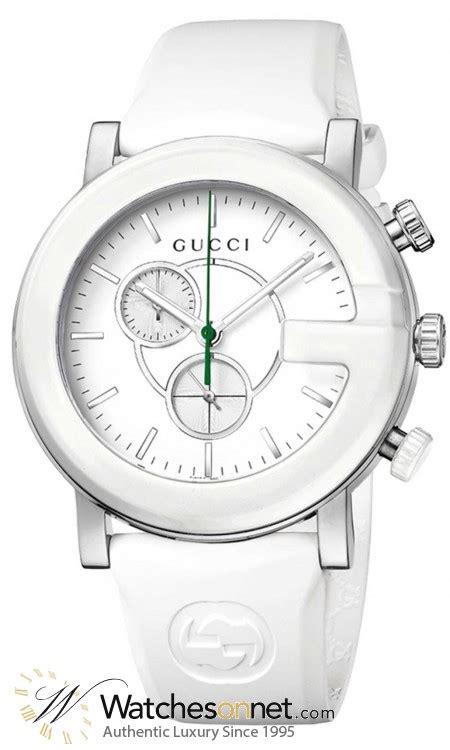 Gucci Ceramik Roundwhite T1310 3 gucci g chrono ya101346 s stainless steel quartz