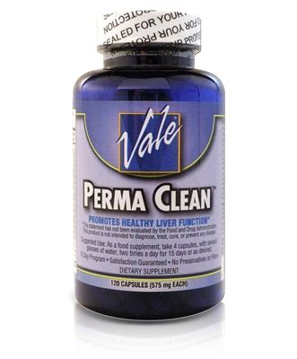 Vales Detox Directions by Vale S Perma Clean