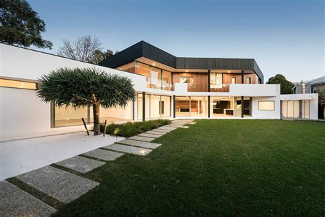 1980s contemporary house remodel remodel of 1980s house in perth is a examine in contrasts