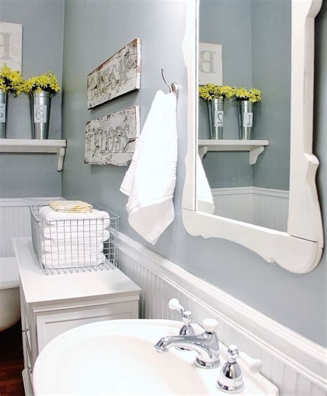 Farmhouse Bathroom Ideas | 32 cozy and relaxing farmhouse bathroom designs digsdigs