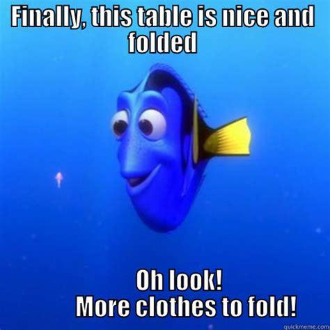 Folding Laundry Meme - just keep folding quickmeme