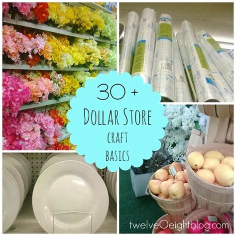1 dollar supplies the best dollar store craft supplies all things creative
