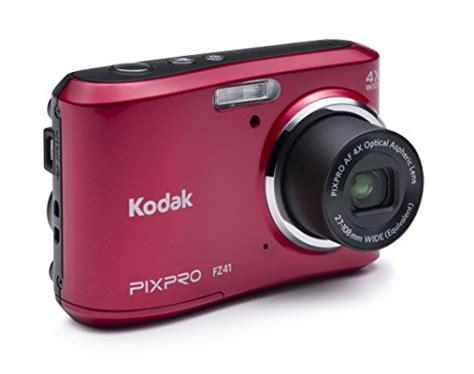 Ces 2008 Kodaks New Digital Cameras Including Touchscreen Easyshare V1273 by Kodak Pixpro Friendly Zoom Fz41 16 Mp Digital With