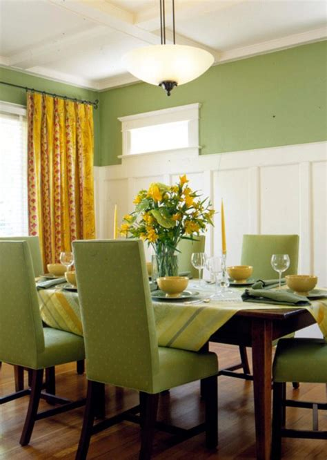 Dining Room Decor Green Green Design Of Dining Room Green Paint And Texture